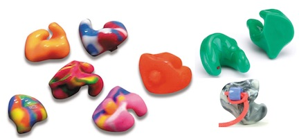 Fig. 2 Custom molded Earplugs