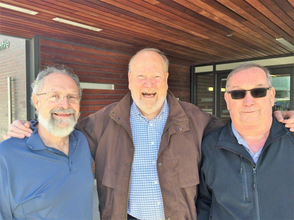 Bill Cole, David Hogg, and Alan Moore