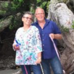 Louise + husband